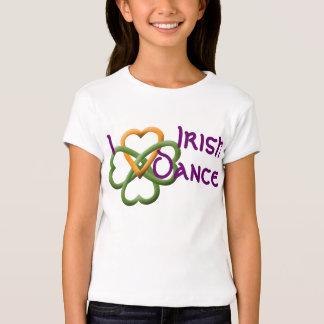 Amo danza del irlandés playera