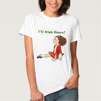 Amo danza del irlandés playeras