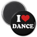 Amo danza iman de nevera