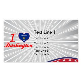 Amo Darlington, Wisconsin Tarjeta De Negocio