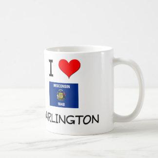 Amo Darlington Wisconsin Tazas De Café