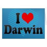 Amo Darwin Felicitación