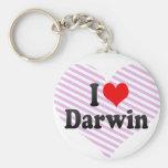 Amo Darwin Llaveros Personalizados