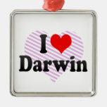 Amo Darwin Ornamento Para Arbol De Navidad