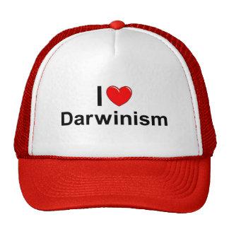 Amo darwinismo (del corazón) gorra