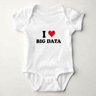 Amo datos grandes body para bebé