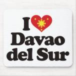 Amo Davao del Sur Tapetes De Raton