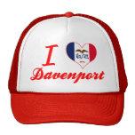Amo Davenport, Iowa Gorro De Camionero