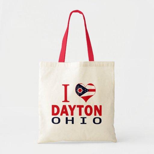 Amo Dayton, Ohio Bolsa Tela Barata