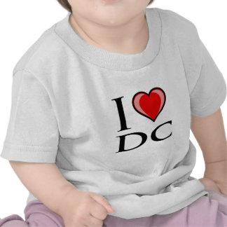 Amo DC - distrito de Columbia Camisetas