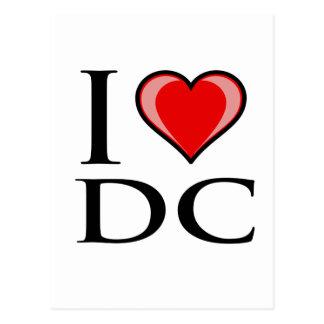 Amo DC - distrito de Columbia Tarjetas Postales