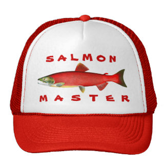Amo de color salmón gorro de camionero