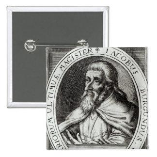 Amo de Jacques de Molay de los caballeros Templars Pin