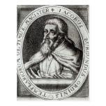 Amo de Jacques de Molay de los caballeros Templars Tarjeta Postal