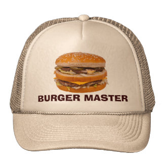 Amo de la hamburguesa gorro