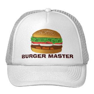 Amo de la hamburguesa gorro de camionero