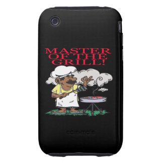 Amo de la parrilla tough iPhone 3 protector