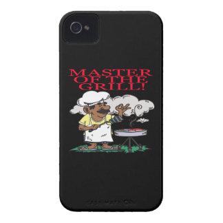 Amo de la parrilla Case-Mate iPhone 4 fundas