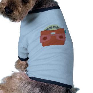 Amo de la visión camiseta con mangas para perro