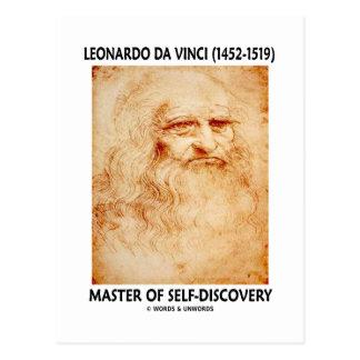 Amo de Leonardo da Vinci del Uno mismo-Descubrimie Postal