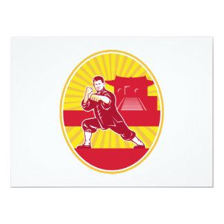 Amo de los artes marciales de Shaolin Kung Fu Anuncio Personalizado