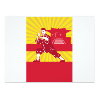 Amo de los artes marciales de Shaolin Kung Fu Comunicado