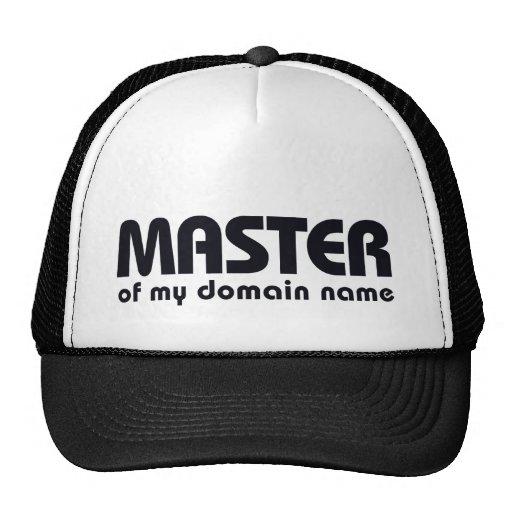 Amo de mi Domain Name Gorro De Camionero