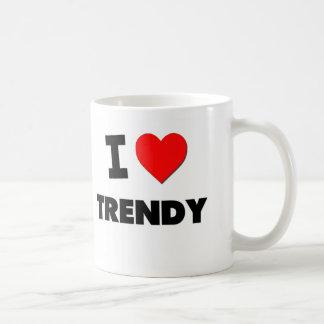 Amo de moda taza de café