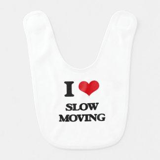 Amo de movimiento lento babero