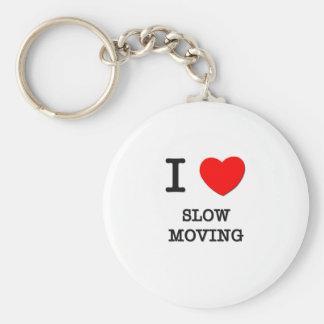 Amo de movimiento lento llavero redondo tipo pin