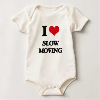 Amo de movimiento lento traje de bebé