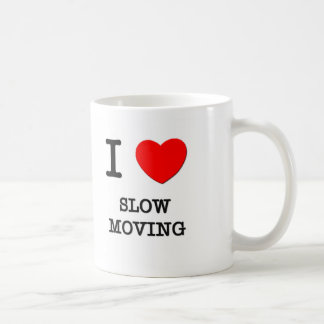 Amo de movimiento lento taza básica blanca
