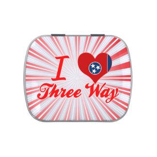 Amo de tres vías Tennessee
