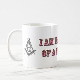 Amo de un albañil taza clásica