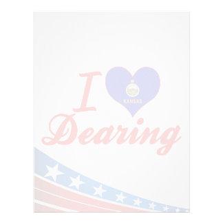 Amo Dearing Kansas Membrete A Diseño
