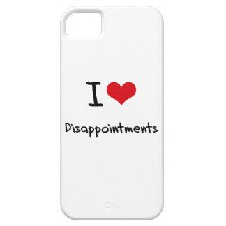 Amo decepciones iPhone 5 protectores