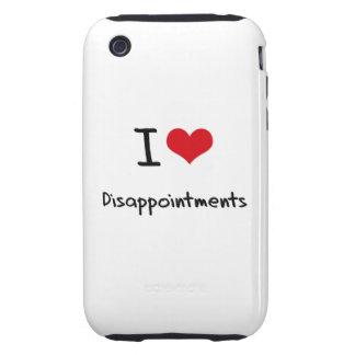 Amo decepciones tough iPhone 3 funda