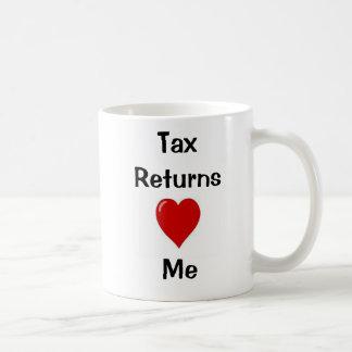 ¡Amo declaraciones de impuestos que las declaracio Taza De Café