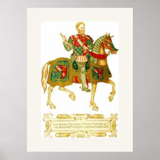 Amo del ~ 1561 del arsenal póster