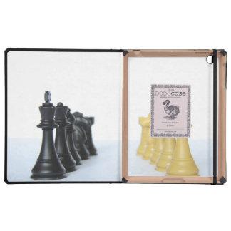 Amo del ajedrez iPad funda