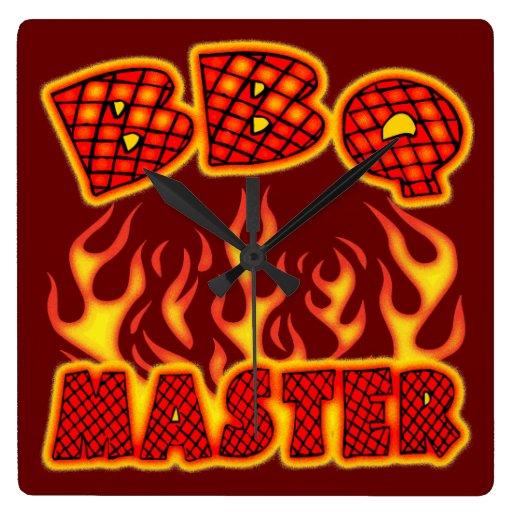 Amo del Bbq Relojes