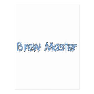 Amo del Brew (azul) Postal