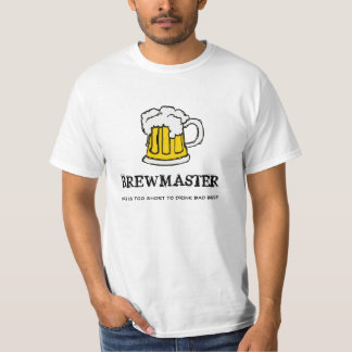 ¡Amo del Brew - la vida es demasiado corta beber Poleras