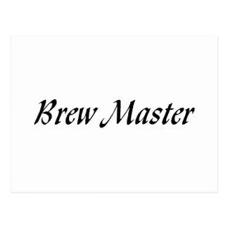 Amo del Brew Tarjeta Postal