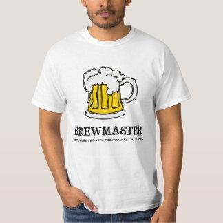 Amo del Brew - taza de cerveza de la compañía de Playera