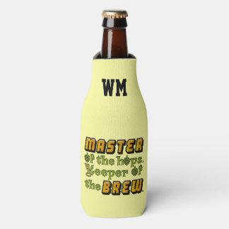Amo del cervecero de la cerveza del brew casero enfriador de botellas