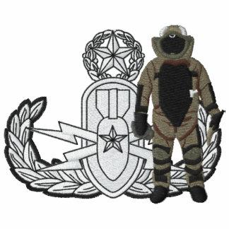 Amo del juego de la bomba del logotipo del EOD Sudadera Bordada