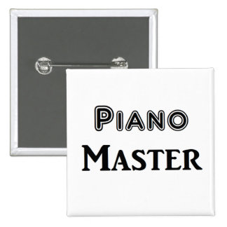 Amo del piano pin cuadrado