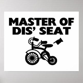 Amo del triciclo de Seat del SID