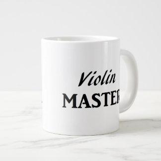 Amo del violín taza grande
